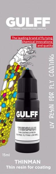 Gulff Clear UV Resin Thinman 15ml