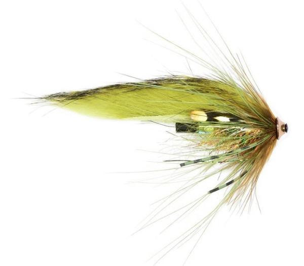 Frödin Flies Tubenfliege Sea Trout Spey Series - Olive Z Spey