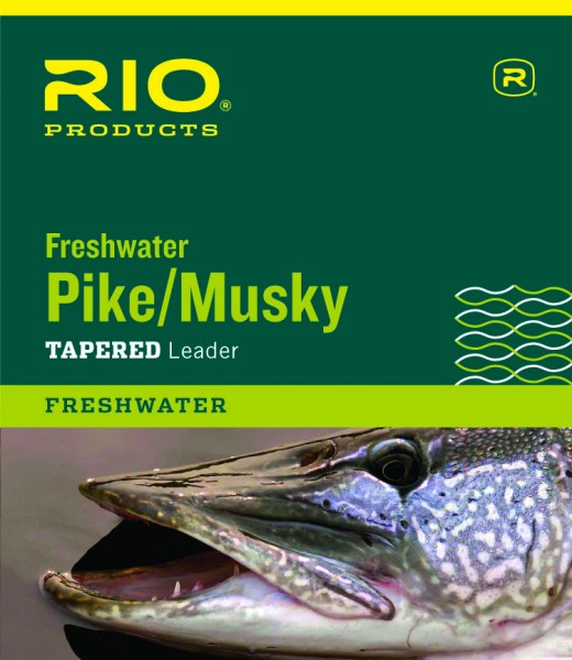 Rio Pike Musky Freshwater Leader Stahlvorfach