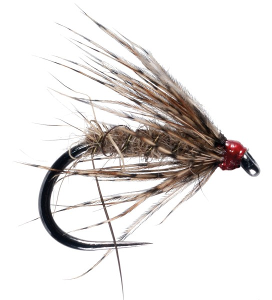 Soldarini Fly Tackle Nassfliege - GRHE (Hares Ear)