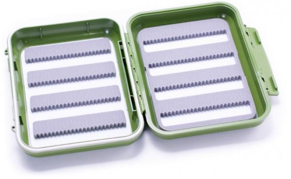 C&F Design CF-1644 Olive wasserdichte Fliegenbox 8 Reihen