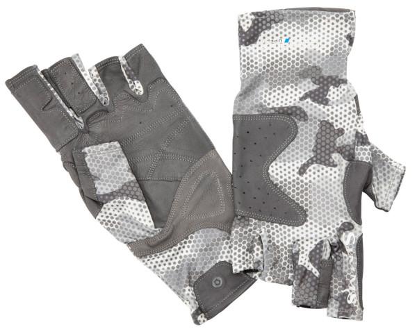 Simms Solarflex Guide Glove Handschuh hex flo camo steel