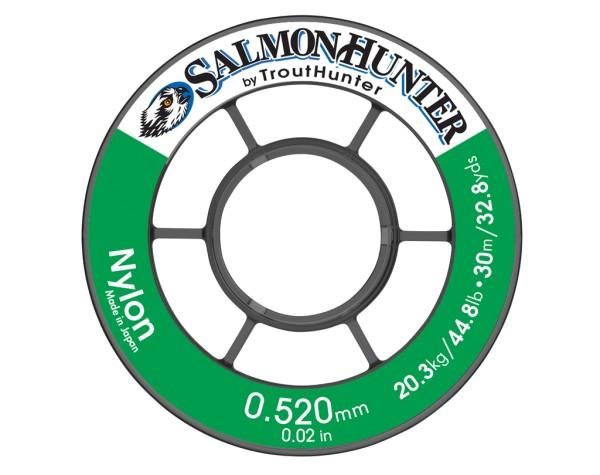 Trout Hunter Nylon Tippet Salmon/Saltwater 50m Spule