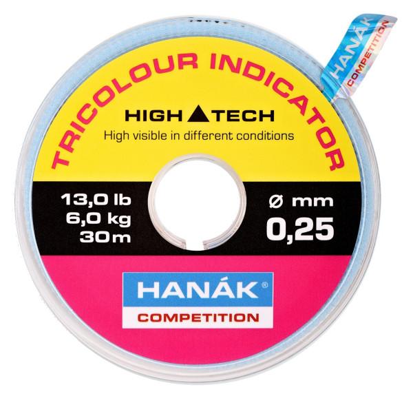 Hanak Tricolour Indicator Sichthilfe hot fl. pink/black/chartreuse