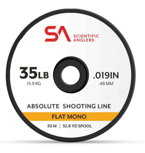 Scientific Anglers Absolute Shooting Line Flat Mono