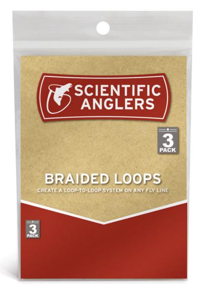 Scientific Anglers 3-Pack Braided Loops 100lb