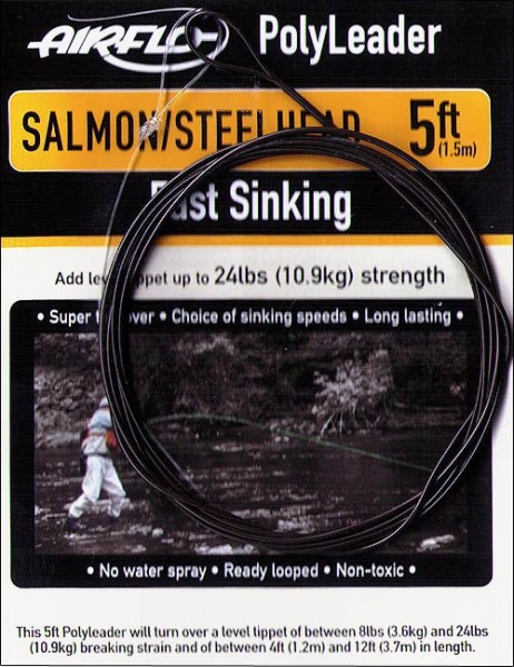 Airflo Salmon / Steelhead Polyleader 5 ft