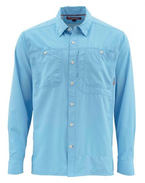 Simms Ebbtide LS Shirt Langarmhemd glacier