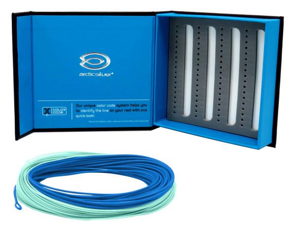 ArcticSilver MD Compact 2.0 Lines Fliegenschnur Slow Intermediate #6 (dark blue/blue)