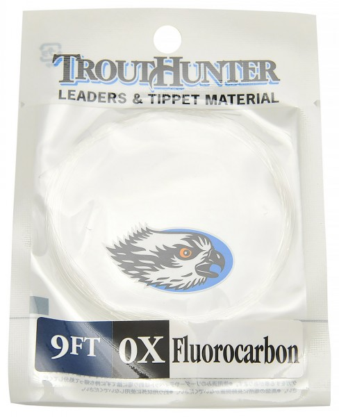 Trout Hunter Fluorocarbon Leader 9 ft