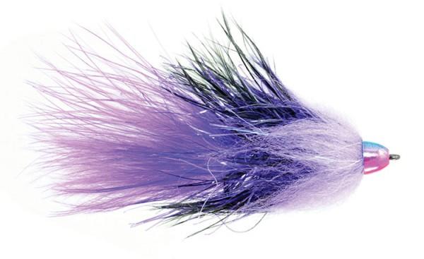 Fulling Mill Streamer - Complex Twist Bugger purple
