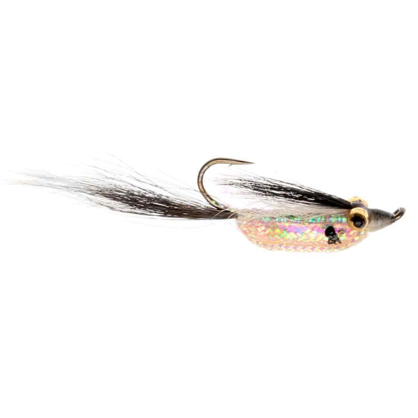 Catchy Flies Streamer - CF101 UH Rattler White