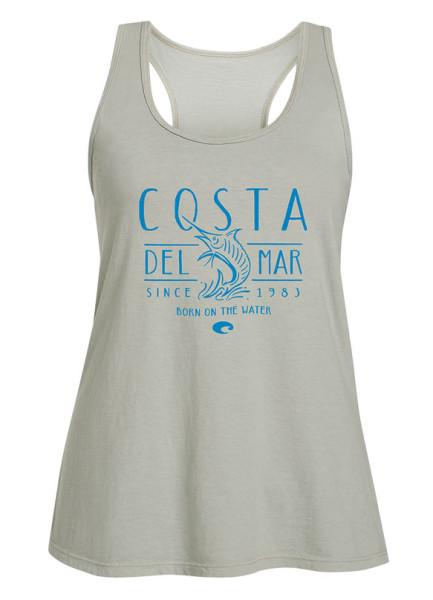 Costa Womens South Beach Tank Top light gray