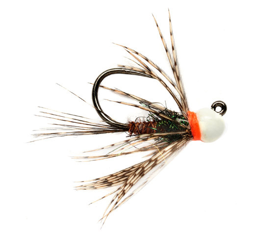 Fulling Mill Nymphe - White Bead PT Jig Barbless