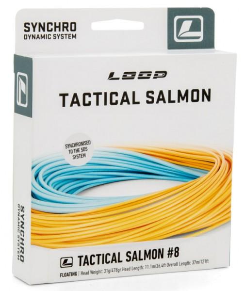 Loop Synchro Tactical Salmon Fliegenschnur Floating
