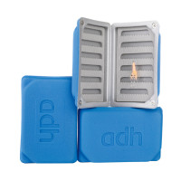adh-fishing Foam Fly Box Fliegendose Medium Ultralight blue