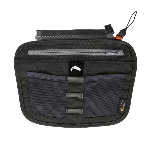 Simms Zip-In Tippet Tender Pocket carbon Tasche