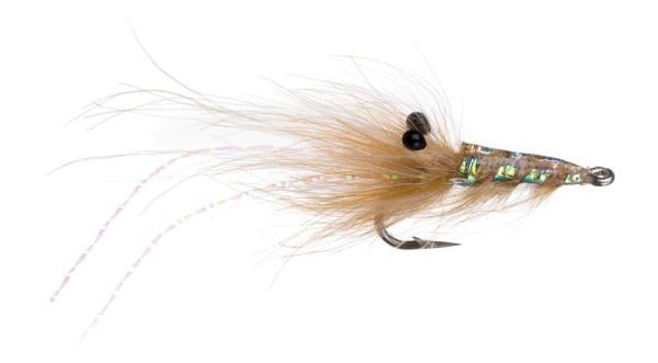Meerforellenfliege Runars CDC Reke tan
