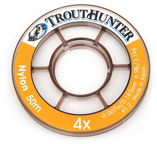 Trout Hunter Nylon Tippet auf Spule