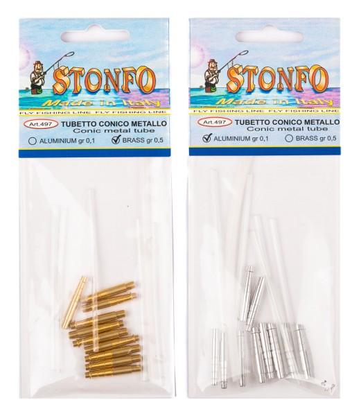 Stonfo 497 Tubetto Conico Metallo - Metall Tuben