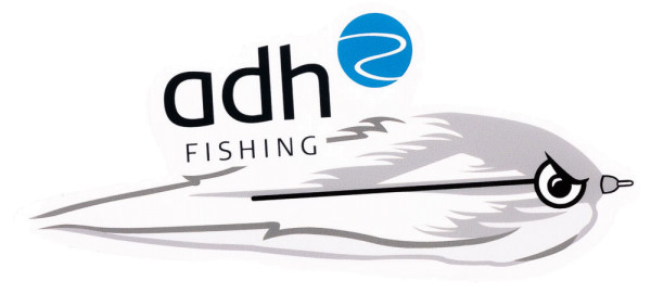 adh-fishing Angry Predator Fly Sticker