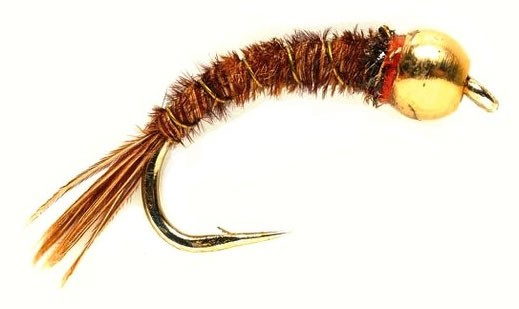 Fulling Mill Nymphe - Gold Nugget Pheasant Tail