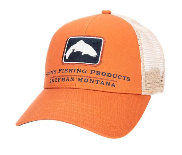 Simms Trout Icon Trucker Cap Schirmmütze simms orange