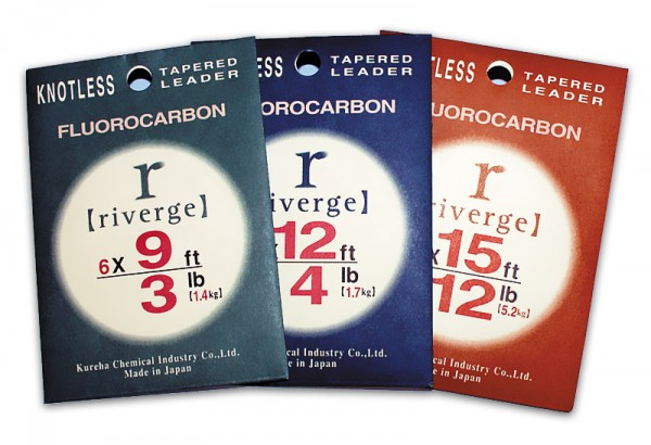 Riverge Fluorocarbon Tapered Leader 9 ft