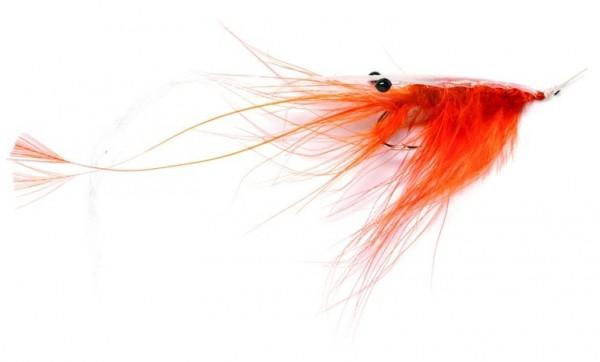Fulling Mill Meerforellenfliege Oeland Spey Shrimp orange