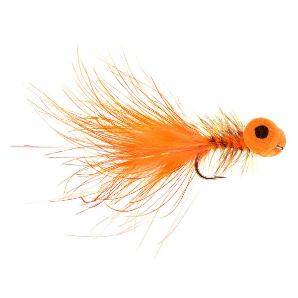 Kami Flies Streamer - Booby orange