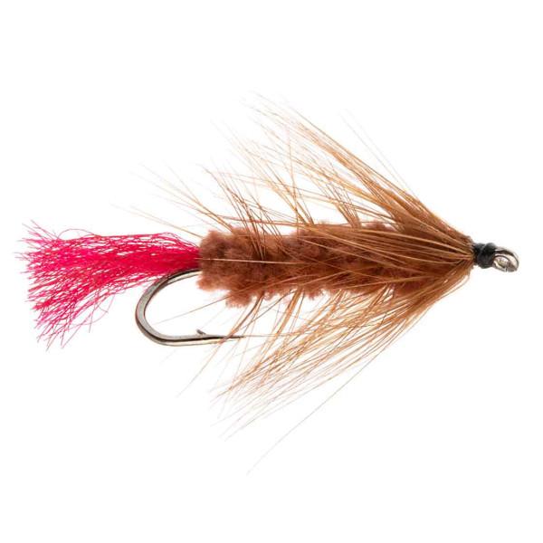 Kami Flies Streamer - Wolly Worm brown