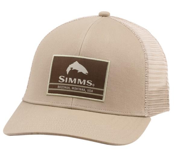 Simms Original Patch Trucker Cap Schirmmütze tan