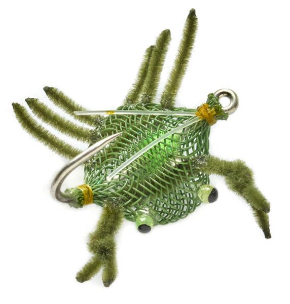 Fulling Mill Salzwasserfliege - Flexo Crab Weedless olive