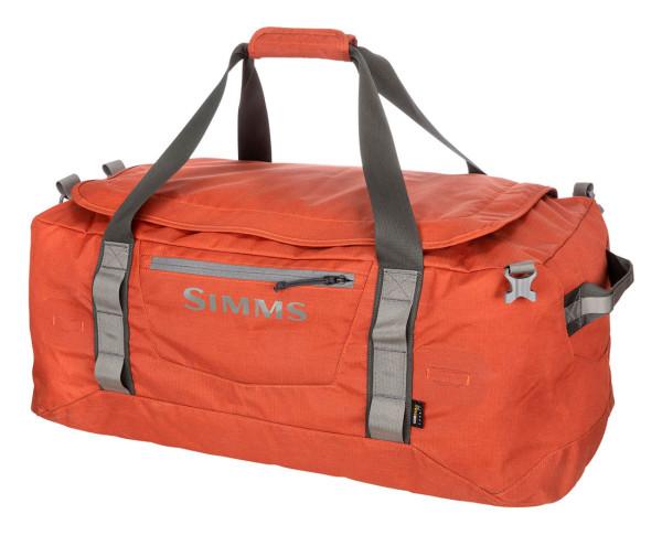 Simms GTS Gear Duffel 80L Reisetasche simms orange