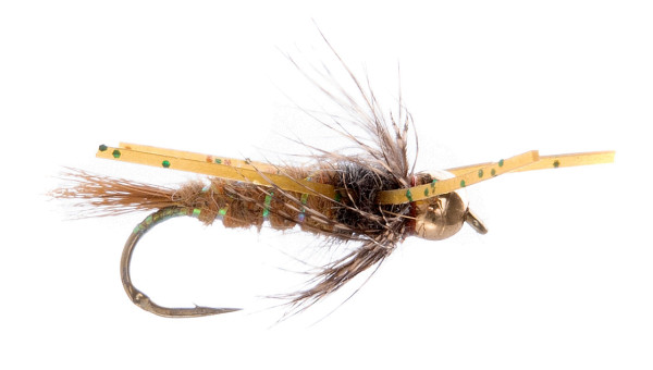 Unique Flies Nymphe - Bead Head Rubber Legs Squirrel