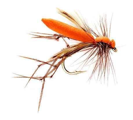 Fulling Mill Trockenfliege - Real Daddy Orange