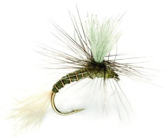 Fulling Mill Trockenfliege - Goddard Emerger Olive