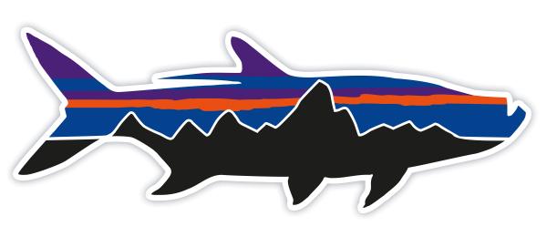 Patagonia Fitz Roy Tarpon Sticker