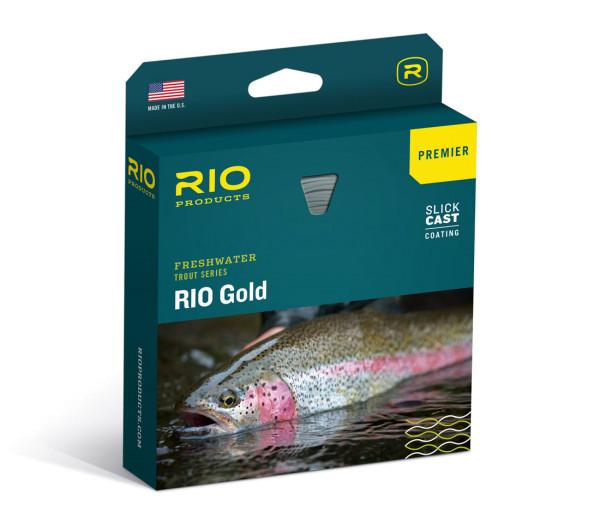 Rio Premier Gold Fliegenschnur Lumalux