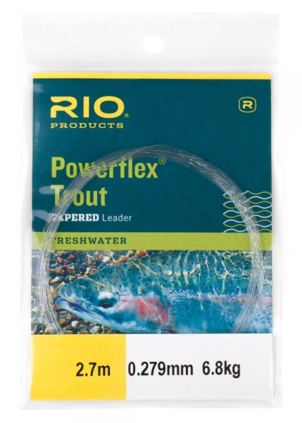Rio Powerflex Tapered Leader Trout