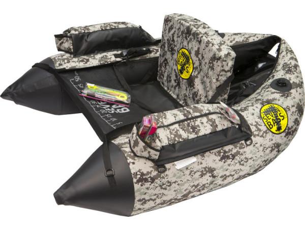 Seven Bass Design Hard Fabric Line DEF Bellyboat desert camo