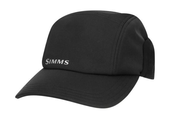 Simms Gore Infinium Wind Cap Schirmmütze black