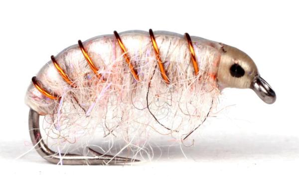 Guideline Meerforellenfliege - UV Gammarus white
