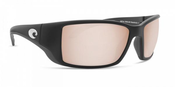 Costa Polarisationsbrille Blackfin Matte Black (Copper Silver Mirror 580P)