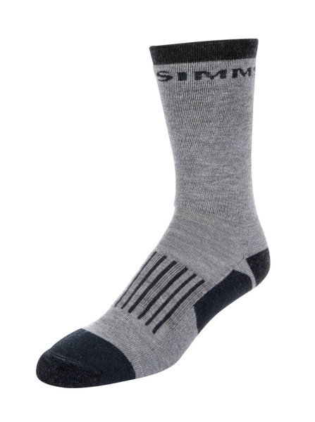 Simms Merino Midweight Hiker Sock Watsocken steel grey