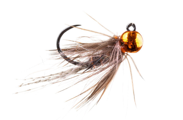 adh-fishing Nymphe - Little Hot Metal Softhackle Jig