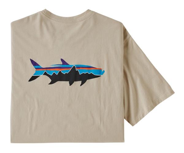 Patagonia Fitz Roy Fish Organic T-Shirt PUFT