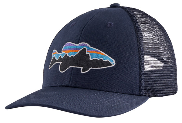 Patagonia Fitz Roy Fish LoPro Trucker Hat Kappe Limited NNF