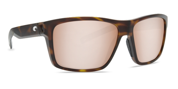 Costa Polarisationsbrille Slack Tide Matte Tortoise (Copper Silver Mirror 580G)