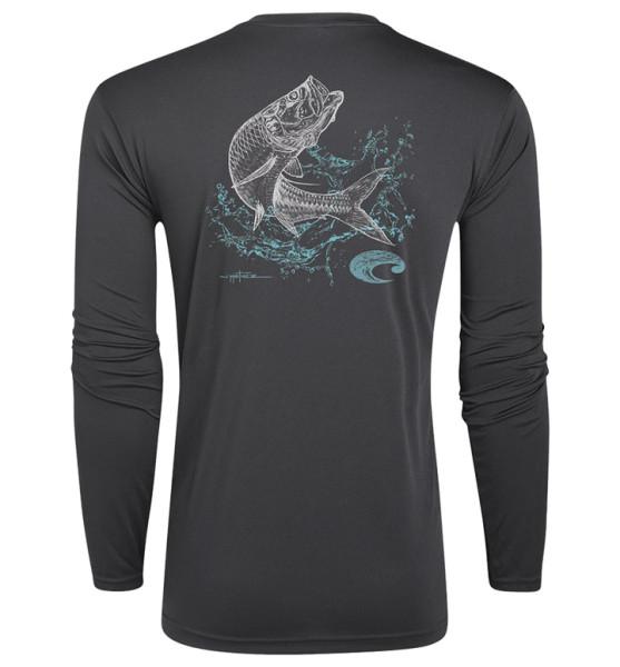 Costa Technical Tarpon Shirt gray